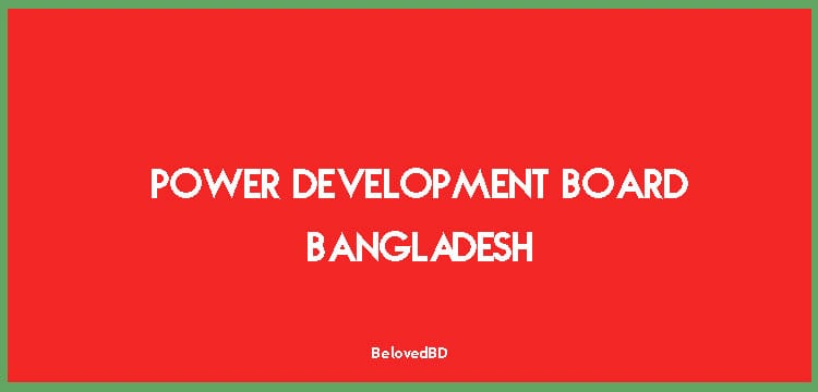 Bangladesh Power Development Board, their roles and history