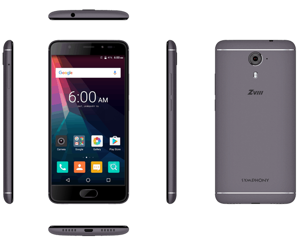 Symphony ZVIII: Full Specifications & Price in Bangladesh